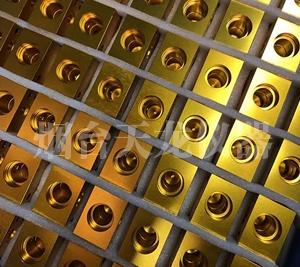 金黄彩色铝氧化